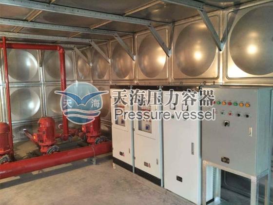 箱泵一体供水设备