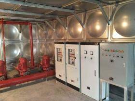 山东箱泵一体供水设备